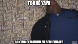 Enlace a Yaya Touré está en su mundo