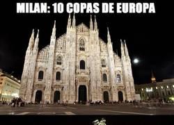 Enlace a A lo tonto, la ciudad del oso y el madroño supera a la capital lombardina en Copas de Europa