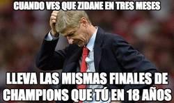 Enlace a Wenger vs Zidane