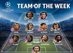 Enlace a Salta la sorpresa: ningún jugador del City en el mejor XI de las simifinales de Champions
