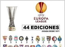 Enlace a Finalistas de la Europa League desde 1971