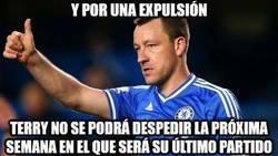 Enlace a Triste despedida de Terry del Chelsea