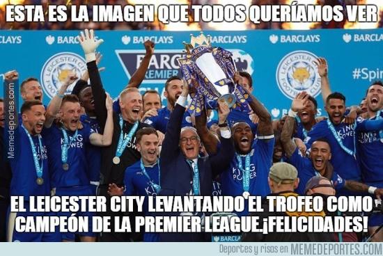 852873 - Yo he visto al Leicester levantando la copa de campeones :')