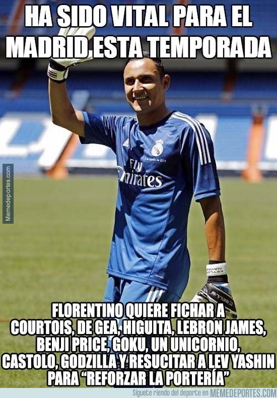 854163 - Florentino a lo suyo, Courtois ya suena para el Real Madrid