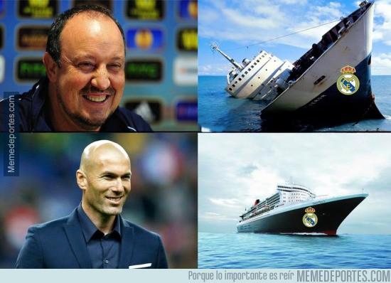 854196 - Con Zidane el barco ha mejorado