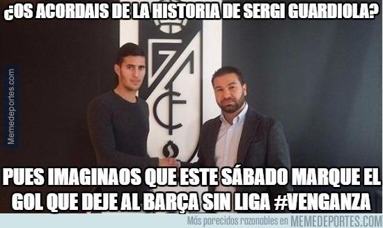 854232 - Sergi Guardiola tiene en bandeja su venganza al Barça