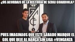 Enlace a Sergi Guardiola tiene en bandeja su venganza al Barça