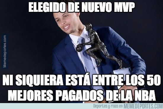 854304 - Injusticia salarial con Curry