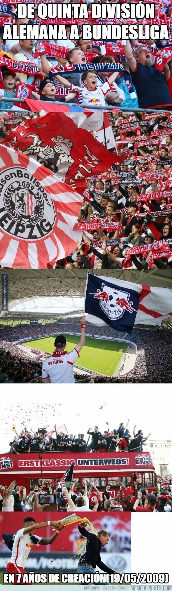 854425 - Demostrando que la historia no lo es todo, ascenso meteórico del RB Leipzig