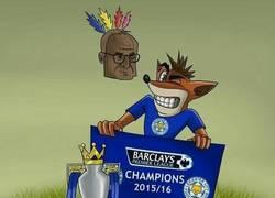 Enlace a Gran caricatura de los foxes y Ranieri (by ZezoCartoons)