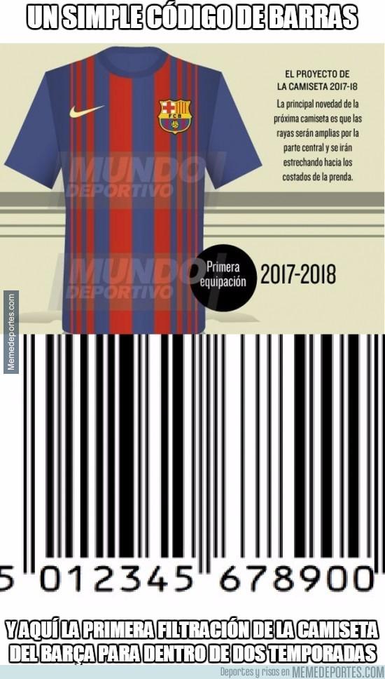 855084 - Vaya tela la nueva camiseta del Barça