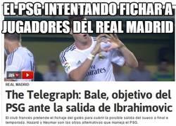 Enlace a El PSG intentando fichar a jugadores del Real Madrid