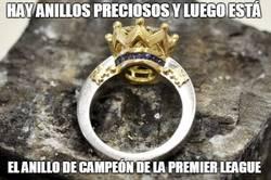 Enlace a El precioso anillo de campeón de la Premier