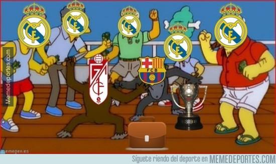855967 - Así vivirán hoy los madridistas el encuentro entre Granada y Barça