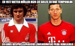 Enlace a Lewandowski iguala a Müller
