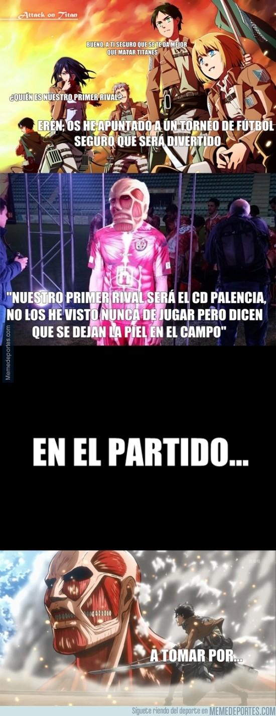 856163 - En el CD Palencia pelean como titanes