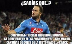 Enlace a Menuda locura lo de Higuaín en la Serie A