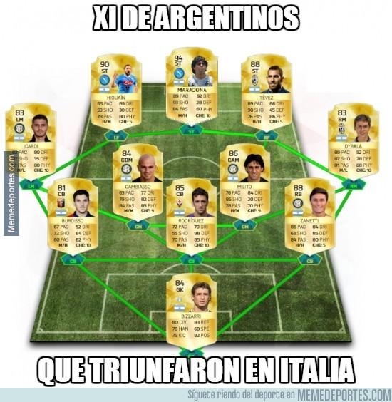 857031 - Argentinos que han triunfado en Italia