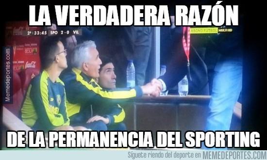 857163 - El gesto que delata al Sporting y Villarreal