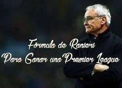 Enlace a Fórmula de Ranieri para ganar la Premier League