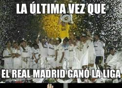Enlace a 6 curiosidades de cuando el Real Madrid ganó su última Liga