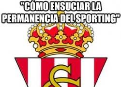 Enlace a Marcelino ensuciando la permanencia del Sporting con sus acciones...