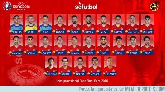 857697 - OFICIAL: Prelista de Vicente Del Bosque de cara a la #EURO2016 Habrá muchos cambios