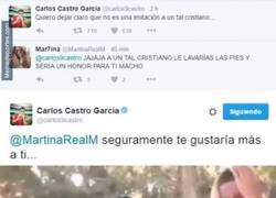 Enlace a Castro está que se sale, otro zasca vía twitter, por listo