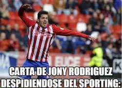Enlace a La emotiva carta de Jony Rodríguez