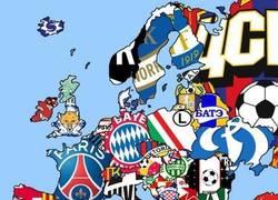 Enlace a Un mapa de con los campeones de liga en Europa