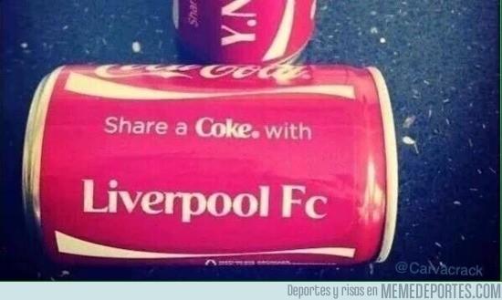 858386 - El Liverpool ya tiene con quien compartir una Coca-Cola
