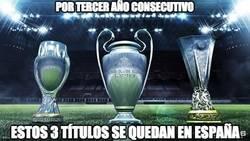 Enlace a España domina el fútbol