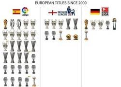 Enlace a La Liga vs Premier League vs Bundesliga desde el año 2000. ¡BRUTAL PALIZA!