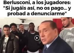 Enlace a Dura amenaza de Berlusconi a los jugadores del milán