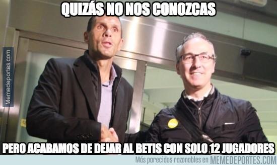 859309 - Revolución y limpieza en el Real Betis