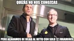 Enlace a Revolución y limpieza en el Real Betis