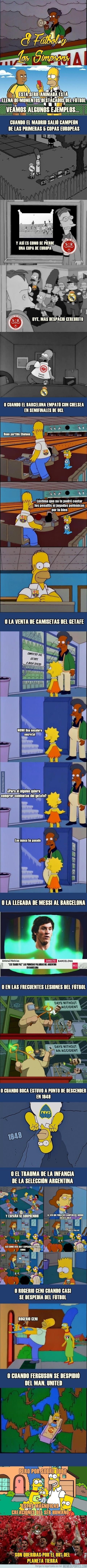 859769 - Los Simpsons y el Fútbol