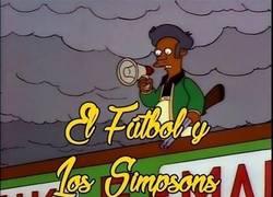 Enlace a Los Simpsons y el Fútbol