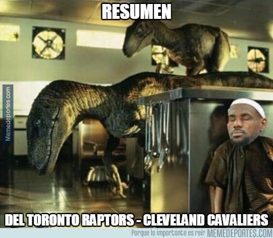 859803 - Los Raptors han contratacado