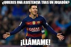 Enlace a Messi siempre al rescate