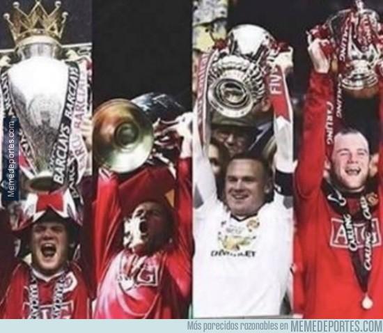 861317 - Wayne Rooney ya tiene el lote: Premier, Champions, Capital One Cup y FA Cup