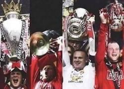 Enlace a Wayne Rooney ya tiene el lote: Premier, Champions, Capital One Cup y FA Cup