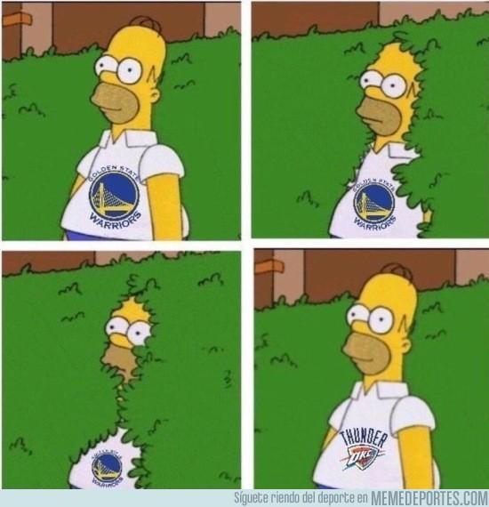 861410 - Westbrook tumba a los Warriors y pone a los Thunder a un triunfo de las Finales de la NBA
