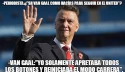 Enlace a Sr Van Gaal, ¿cómo hacías para seguir en el United?