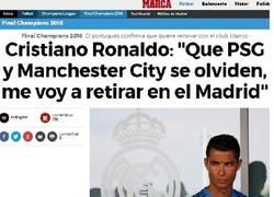 Enlace a ¿Cristiano se retira en el Madrid? Alguien no opina lo mismo