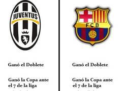 Enlace a Demasiadas coincidencias entre Juventus y Barcelona esta temporada
