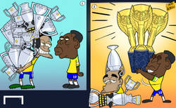 Enlace a Dani Alves puede tener más títulos que Pelé... Pero 'O Rei' ganó los más importantes