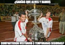 Enlace a ¿Conocías esta curiosidad de Ramos y Alves?