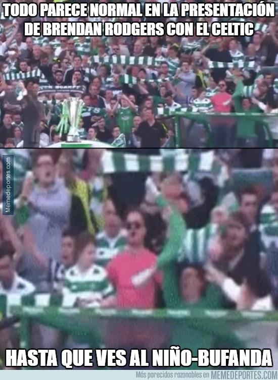 862142 - Todo parece normal en la presentación de Brendan Rodgers con el Celtic
