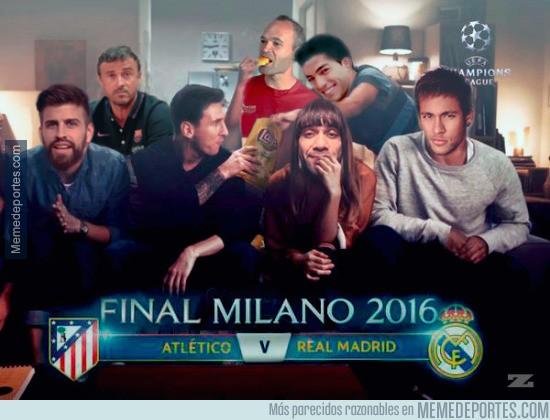862146 - El Barça ya está preparado para la final de Milan